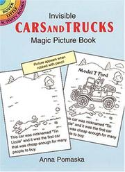 Cover of: Invisible Cars and Trucks Magic Picture Book