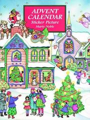 Cover of: Advent Calendar Sticker Picture