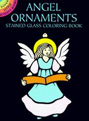 Cover of: Angel Ornaments Stained Glass Coloring Book