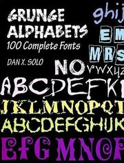 Cover of: Grunge Alphabets