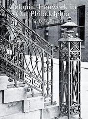 Cover of: Colonial ironwork in old Philadelphia