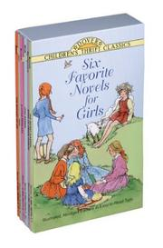 Cover of: Six favorite novels for girls |