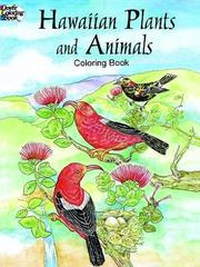 Cover of: Hawaiian Plants and Animals Coloring Book | Y. S. Green