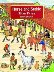 Cover of: Horse and Stable Sticker Picture