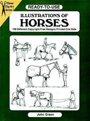 Cover of: Ready-to-Use Illustrations of Horses