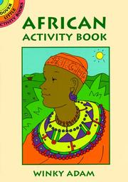 Cover of: African Activity Book (Dover Little Activity Books) | Winky Adam