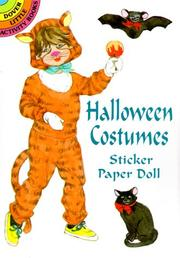 Cover of: Halloween Costumes Sticker Paper Doll