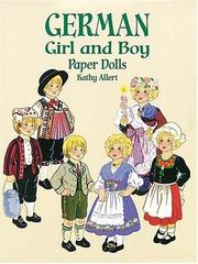 Cover of: German Girl and Boy Paper Dolls (Boys & Girls from Around the Globe)