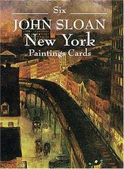 Cover of: Six John Sloan New York Paintings (Small-Format Card Books) | John Sloan