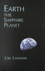 Cover of: Earth, the sapphire planet