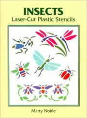 Cover of: Insects Laser-Cut Plastic Stencils