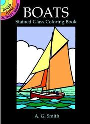 Cover of: Boats Stained Glass Coloring Book | A.G. Smith