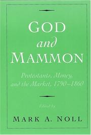 Cover of: God and Mammon | Mark A. Noll