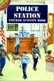 Cover of: Police Station Sticker Activity Book | Steven James Petruccio