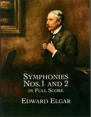 Cover of: Symphonies Nos. 1 and 2 in Full Score