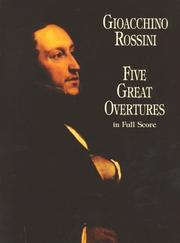 Cover of: Five Great Overtures in Full Score