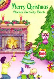 Cover of: Merry Christmas Sticker Activity Book | Marty Noble