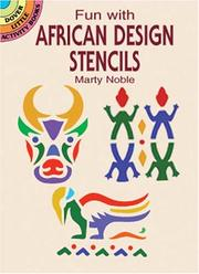 Cover of: Fun with African Design Stencils