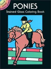 Cover of: Ponies Stained Glass Coloring Book
