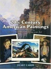Cover of: 20th-Century American Paintings | Hunter Museum of American Art