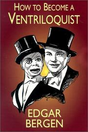 Cover of: How to Become a Ventriloquist