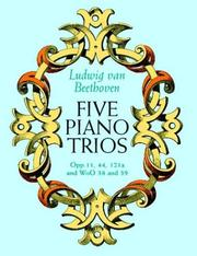 Cover of: Five Piano Trios