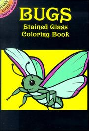Cover of: Bugs Stained Glass Coloring Book