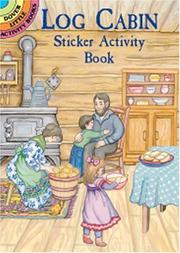 Cover of: Log Cabin Sticker Activity Book