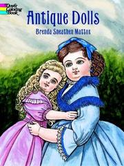 Cover of: Antique Dolls | Brenda Sneathen Mattox
