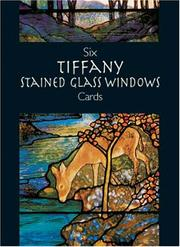 Cover of: Six Tiffany Stained Glass Windows Cards (Small-Format Card Books)