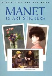 Cover of: Manet