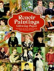 Cover of: Renoir Paintings Giftwrap Paper (Giftwrap--2 Sheets, 1 Designs)