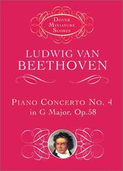 Cover of: Piano concerto no. 4 in G major