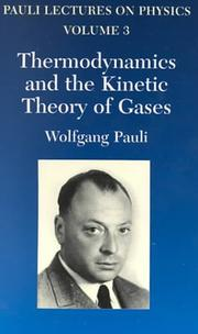 Cover of: Pauli lectures on physics