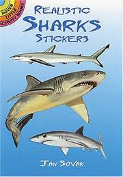 Cover of: Realistic Sharks Stickers | Jan Sovak