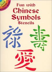 Cover of: Fun with Chinese Symbols Stencils