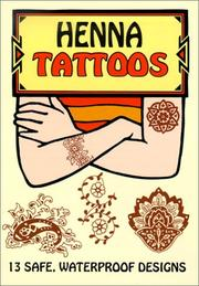 Cover of: Henna Tattoos