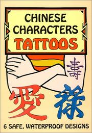 Cover of: Chinese Characters Tattoos