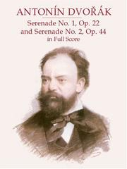 Cover of: Serenade No. 1, Op. 22 & Serenade No. 2, Op. 44