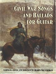 Cover of: Civil War Songs and Ballads for Guitar