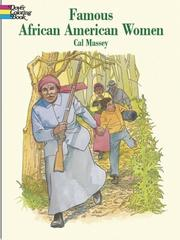 Cover of: Famous African-American Women | Cal Massey