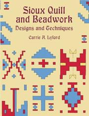 Cover of: Sioux quill and beadwork