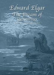 Cover of: The Dream of Gerontius, Op. 38, in Full Score