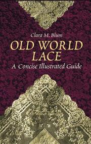 Cover of: Old world lace