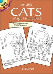 Cover of: Invisible Cats Magic Picture Book | Pat Stewart