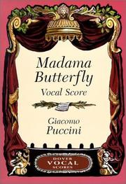 Cover of: Madama Butterfly Vocal Score
