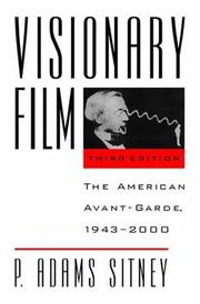 Cover of: Visionary film