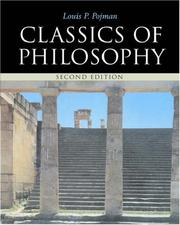 Cover of: Classics of philosophy by Louis P. Pojman