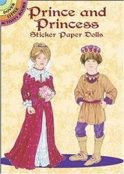 Cover of: Prince and Princess Sticker Paper Dolls