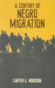 Cover of: A Century of Negro Migration